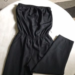 Black Express Capri Jumpsuit